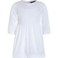 Odzież dziecięca: Polo Ralph Lauren EMBROID DRESSES 2IN1 Sukienka koktajlowa white