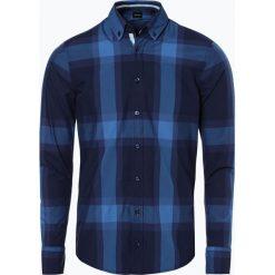 BOSS Casual - Koszula męska – Mabsoot, niebieski. Niebieskie koszule męskie na spinki BOSS Casual, m. Za 449,95 zł.