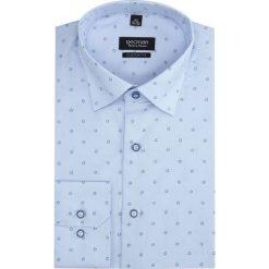 Koszula davis 2839 długi rękaw custom fit niebieski. Szare koszule męskie marki Recman, na lato, l, w kratkę, button down, z krótkim rękawem. Za 149,00 zł.