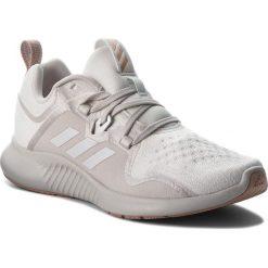 Buty adidas - Edgebounce W AC8116 Ftwwht/Greone/Ashpea. Czarne buty do biegania damskie marki Adidas, z kauczuku. W wyprzedaży za 279,00 zł.