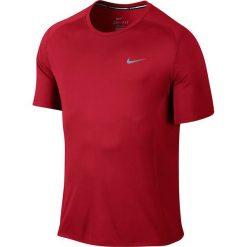 Nike Koszulka męska DF Miler SS  czerwona r. L (683527 657). Czerwone t-shirty męskie marki Nike, l. Za 110,00 zł.