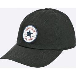 Converse - Czapka. Czarne czapki z daszkiem damskie marki Converse, z bawełny. Za 89,90 zł.
