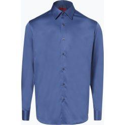 HUGO - Koszula męska łatwa w prasowaniu – Venzo, niebieski. Niebieskie koszule męskie non-iron marki HUGO, m, z bawełny. Za 349,95 zł.