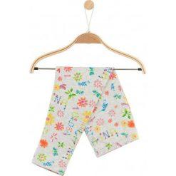 Legginsy dziewczęce: Legginsy w kolorowy deseń dla niemowlaka