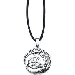 EtNox Magic and Mystic Celtic Knot Naszyjnik srebrny. Szare naszyjniki męskie etNox Magic and Mystic, srebrne. Za 134,90 zł.