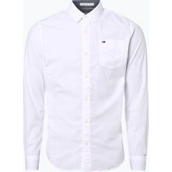Tommy Jeans - Koszula męska, czarny. Czarne koszule męskie jeansowe marki Tommy Jeans, m. Za 349,95 zł.