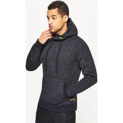 Sweter o kroju bluzy - Czarny. Czarne swetry klasyczne męskie marki Cropp, l. Za 119,99 zł.