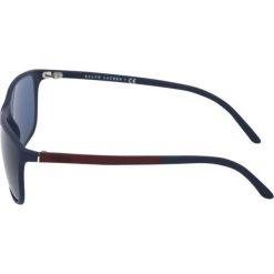 Polo Ralph Lauren Okulary przeciwsłoneczne dark blue. Niebieskie okulary przeciwsłoneczne męskie aviatory Polo Ralph Lauren. Za 569,00 zł.