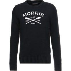 Morris DAVIS ONECK Sweter old blue. Niebieskie kardigany męskie Morris, m, z bawełny. W wyprzedaży za 377,30 zł.