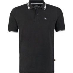 Koszulki polo: Alpha Industries TWIN STRIPE NEW Koszulka polo black/white