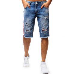 Spodenki i szorty męskie: Spodenki męskie jeansowe niebieskie (sx0684)