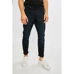 G-Star Raw - Jeansy D-Staq. Niebieskie jeansy męskie slim G-Star RAW, z bawełny. Za 599,90 zł.