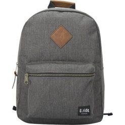 Plecak w kolorze szarym - 30 x 41 x 13 cm. Szare plecaki męskie marki G.ride, z tkaniny. W wyprzedaży za 99,95 zł.
