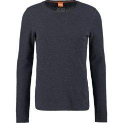 Swetry klasyczne męskie: BOSS Orange TERRIS SLIM FIT Sweter dark blue
