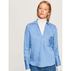 Koszula w paski - Niebieski. Koszule w niebieskie paski Reserved. Za 69,99 zł.