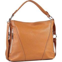 Torebka CREOLE - RBI1179 Koniak. Brązowe torebki klasyczne damskie Creole. W wyprzedaży za 209,00 zł.