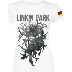 Bluzki asymetryczne: Linkin Park LIP Stag Tour Dated Koszulka damska biały