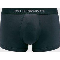 Emporio Armani - Bokserki. Czarne bokserki męskie Emporio Armani, z dzianiny. Za 139,90 zł.