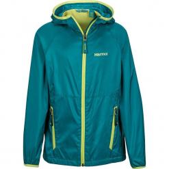 """Kurtka funkcyjna """"Ether"""" w kolorze zielono-żółtym. Zielone kurtki dziewczęce marki Marmot Kids, z materiału. W wyprzedaży za 132,95 zł."""