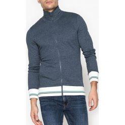 Bluza zapinana na zamek. Szare bluzy męskie rozpinane marki La Redoute Collections, m, z bawełny, z kapturem. Za 146,96 zł.