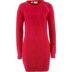 Sukienki hiszpanki: Sukienka dzianinowa bonprix czerwony