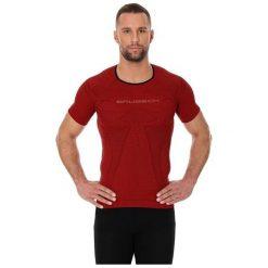 Koszulki sportowe męskie: Brubeck Koszulka męska 3D Run PRO z krótkim rękawem czerwona r. M (SS11920)