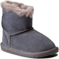Kowbojki damskie: Buty EMU AUSTRALIA – Toddle B10737 Charcoal/Anthracite