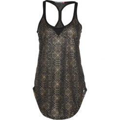 Elle Sport Koszulka sportowa black/gold. Czarne t-shirty damskie Elle Sport, m, z poliesteru. W wyprzedaży za 199,20 zł.