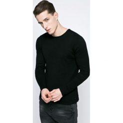 Casual Friday - Sweter. Czarne swetry klasyczne męskie marki Casual Friday, m, z bawełny, z okrągłym kołnierzem. W wyprzedaży za 79,90 zł.