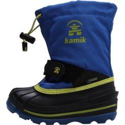 Kamik WATERBUG Śniegowce blue. Niebieskie buty zimowe damskie marki Kamik, z materiału. Za 399,00 zł.