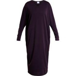Długie sukienki: Max Mara Leisure GIOVE  Długa sukienka melanzana burgundy