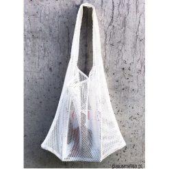 TORBA MESH XXL byOrianne. Szare torebki klasyczne damskie marki Pakamera, z meshu, duże. Za 99,00 zł.