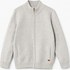 Swetry chłopięce: Mango Kids – Kardigan dziecięcy David2 122-164 cm