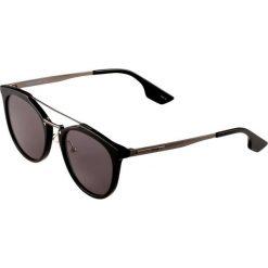 Okulary przeciwsłoneczne damskie aviatory: McQ Alexander McQueen Okulary przeciwsłoneczne black/ruthenium/grey