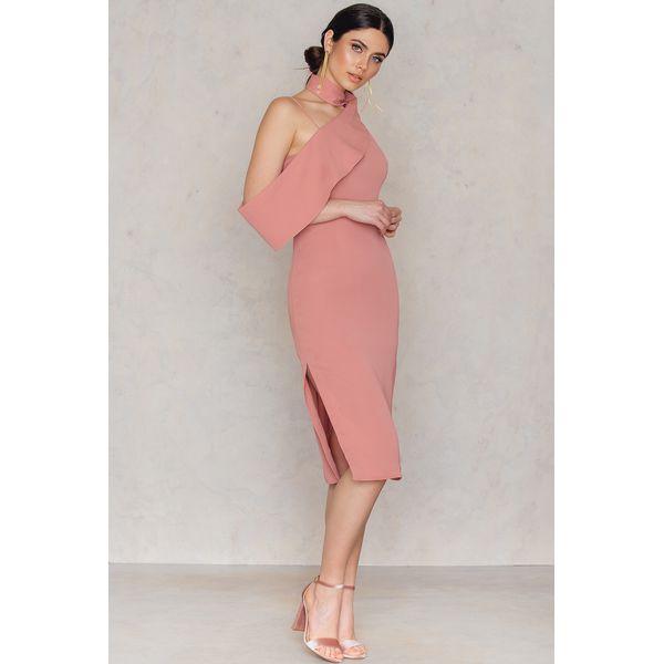 d95409cc509b4 Keepsake Sukienka Laika Midi - Pink - Różowe sukienki damskie marki ...