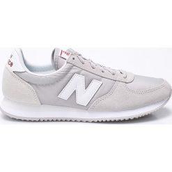 New Balance - Buty WL220RL. Szare buty sportowe damskie marki New Balance, z materiału. W wyprzedaży za 239,90 zł.