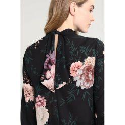 Bluzki asymetryczne: Dorothy Perkins Tall PLAIN TIE BACK Bluzka black