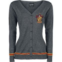 Kardigany damskie: Harry Potter Gryffindor Crest Kardigan damski odcienie szarego