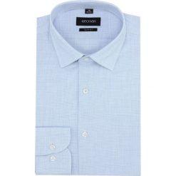 Koszula versone 2751k długi rękaw slim fit niebieski. Niebieskie koszule męskie slim Recman, m, z długim rękawem. Za 149,00 zł.