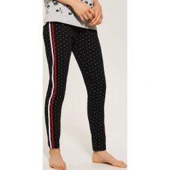 Spodnie piżamowe - Czarny. Czarne piżamy damskie marki Reserved, l. Za 39,99 zł.