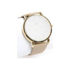 Biżuteria i zegarki damskie: Beżowo-Złoty Zegarek You Have Lost