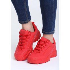 Czerwone Sneakersy Get This. Czerwone sneakersy damskie vices, z materiału. Za 89,99 zł.