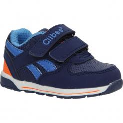 Granatowe buty sportowe na rzepy Casu F-682. Niebieskie buciki niemowlęce Casu, na rzepy. Za 59,99 zł.