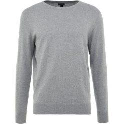 Swetry klasyczne męskie: J.CREW CASH CREW  Sweter grey