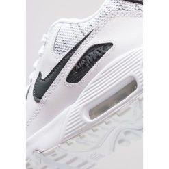 Nike Sportswear AIR MAX 90 SE Tenisówki i Trampki white/anthracite/cool grey/wolf grey. Białe buty sportowe chłopięce Nike Sportswear, z gumy. Za 459,00 zł.
