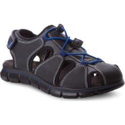 Sandały PRIMIGI - 1396311 D Nero. Czarne sandały chłopięce Primigi, z materiału. W wyprzedaży za 219,00 zł.