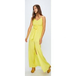 Tally Weijl - Sukienka. Niebieskie długie sukienki marki bonprix, z nadrukiem, na ramiączkach. Za 169,90 zł.
