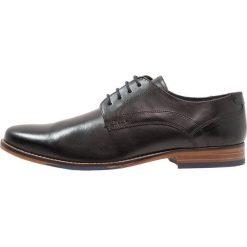 Salamander Eleganckie buty black. Czarne buty wizytowe męskie Salamander, z materiału, na sznurówki. Za 419,00 zł.