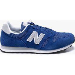 New Balance - Buty ML373SBG. Niebieskie buty skate męskie New Balance, z materiału, na sznurówki. W wyprzedaży za 239,90 zł.