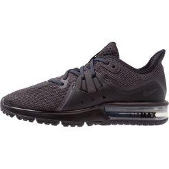 Nike Performance AIR MAX SEQUENT 3 Obuwie do biegania treningowe black/anthracite. Czarne buty do biegania damskie marki Nike Performance, z materiału. Za 399,00 zł.